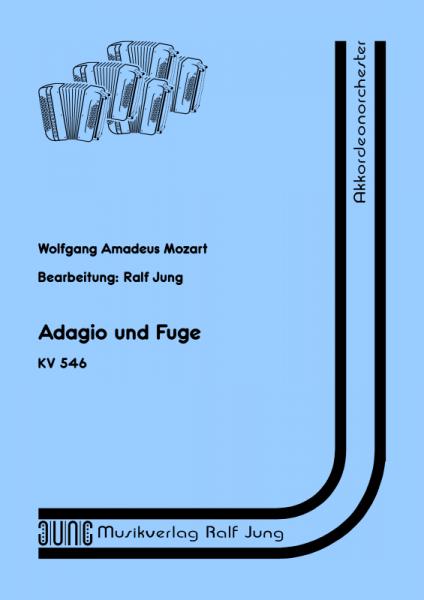 Adagio und Fuge (KV 546) (Partitur)