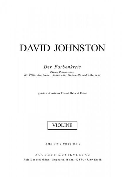Farbenkreis (Violine)