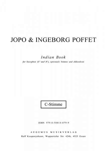 Indian Book (C-Stimme)