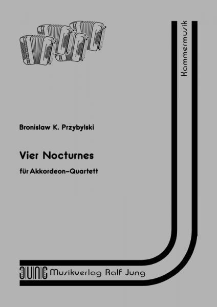 Vier Nocturnes (Partitur)