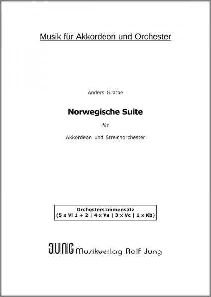 Norwegische Suite (Stimmensatz)