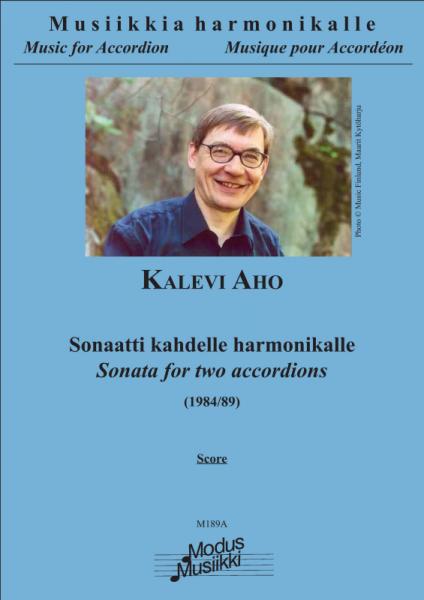 Sonata for two Accordions (Partitur)