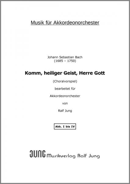 Komm, heiliger Geist, Herre Gott (BWV 651) (Ergänzungsstimme Akk. I)