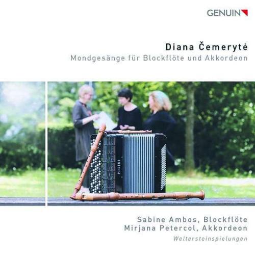 Diana Cemeryte - Mondgesänge für Blockflöte & Akkordeon