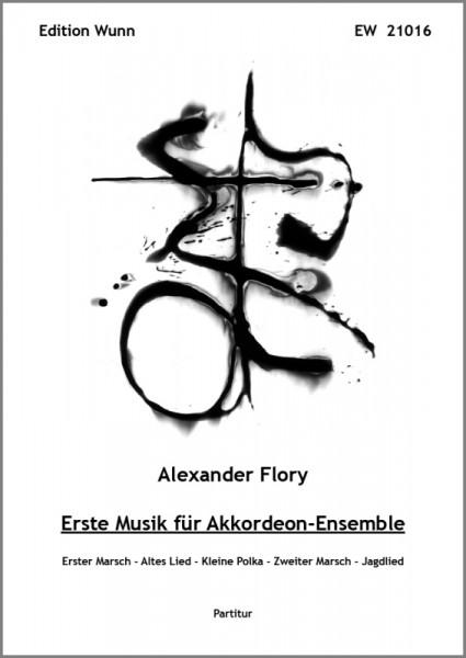 Erste Musik für Akkordeon-Ensemble