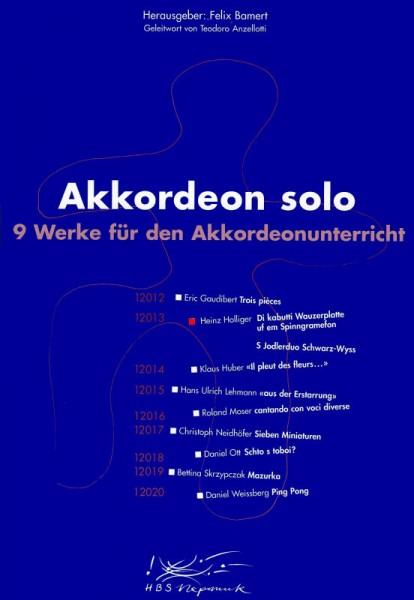 Di kabutti Wauzerplatte um em Spinngramefon - S Jodlerduo Schwarz-Wyss
